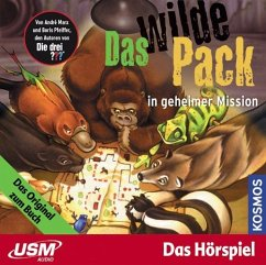 Das wilde Pack in geheimer Mission / Das wilde Pack Bd.7 (1 Audio-CD)