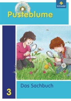 Pusteblume 3. Sachbuch. Schülerband. Nordrhein-Westfalen