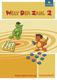 Welt der Zahl 2. Arbeitsheft. Baden-Württemberg