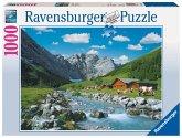 Ravensburger 19216 - Österreichische Berge, 1000 Teile Puzzle