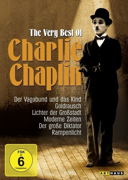 Charlie Chaplin - The Very Best of Charlie Chaplin (6 DVDs)