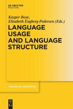 Language Usage and Language Structure