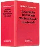 Gewerblicher Rechtsschutz, Wettbewerbsrecht, Urheberrecht (ohne Fortsetzungsnotierung). Inkl. 68. Ergänzungslieferung