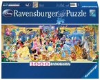 Ravensburger 15109 - Disney Gruppenfoto, 1000 Teile Panorama Puzzle
