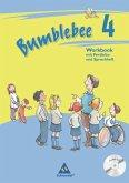 Bumblebee 4. Workbook plus Portfolio- / Sprachheft und Pupil's Audio-CD