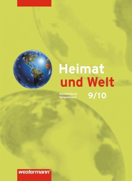 Heimat und Welt 9/10. Schülerband. Mecklenburg-Vorpommern