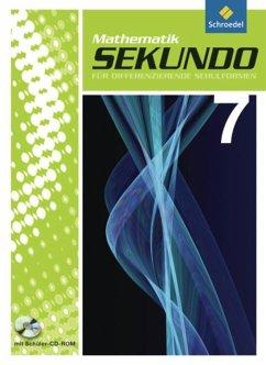 Sekundo 7. Schülerband mit CD-ROM