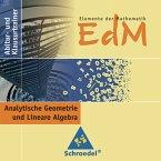 Lineare Algebra und Analytische Geometrie, CD-ROM / Elemente der Mathematik (EdM), Abitur- und Klausurtrainer