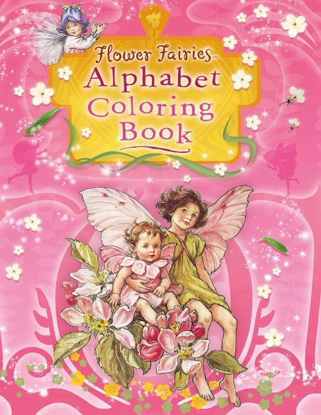 Alphabet flower coloring pages download and print for free | Fairy coloring  pages, Fairy coloring, Flower coloring pages | 600x465