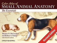 Color Atlas of Small Animal Anatomy: The Essentials - Kainer, Robert A.; Mccracken, Thomas O.