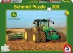 Schmidt Spiele 55526 - John Deere: 8270R, Kinderpuzzle, 200 Teile