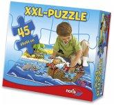 Zoch 606034960 - Piraten in Sicht, XXL Riesenpuzzle mit 45 Teile