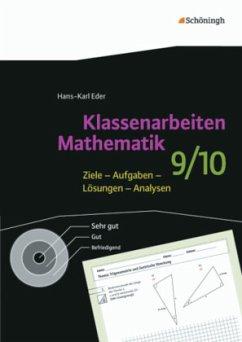 9./10. Schuljahr / Klassenarbeiten Mathematik - Eder, Hans-Karl