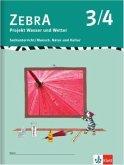 Zebra. Projekthefte für den Sachunterricht / Projekt Wetter 3./4. Schuljahr