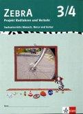 Zebra. Projekthefte für den Sachunterricht / Projekt Verkehr 3./4. Schuljahr