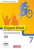 Doppel-Klick - Differenzierende Ausgabe Nordrhein-Westfalen. 7. Schuljahr. Das Arbeitsheft Basis mit CD-ROM