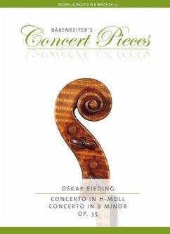 Konzert h-Moll op.35, für Violine + Klavierauszug