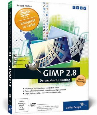 GIMP 2.8, m. DVD-ROM - Klaßen, Robert