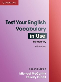 Test Your English Vocabulary in Use - Elementary - McCarthy, Michael;O'Dell, Felicity