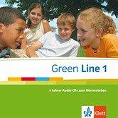 Green Line 1 - 4 Lehrer-Audio-CDs zum Hörverstehen