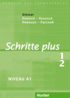 Schritte plus 1+2. Glossar Deutsch-Russisch - Niebisch, Daniela; Penning-Hiemstra, Sylvette; Specht, Franz; Bovermann, Monika