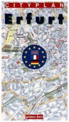 Cityplan Erfurt - Cotta, Anette