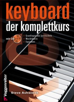 Keyboard - Der Komplettkurs, m. Audio-CD