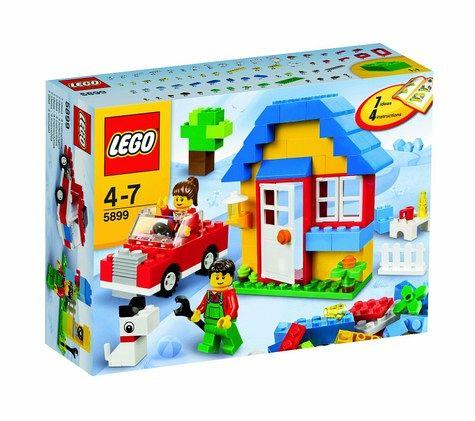 lego steine co 5899 bausteine haus bei b immer portofrei. Black Bedroom Furniture Sets. Home Design Ideas