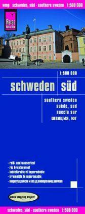 World Mapping Project Schweden, Süd; Southern Sweden; Suède Sud; Suecia sur