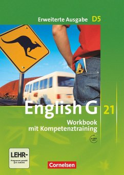 English G 21. Erweiterte Ausgabe D 5. Workbook Workbook mit Audios online - Seidl, Jennifer
