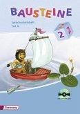 Bausteine 2. A und B. Spracharbeitsheft mit CD-ROM