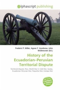 History of the Ecuadorian Peruvian Territorial Dispute
