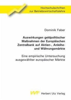 Auswirkungen geldpolitischer Maßnahmen der Euro...