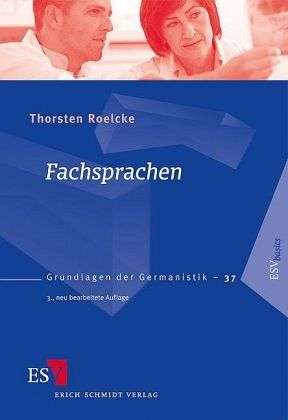 Fachsprachen - Roelcke, Thorsten