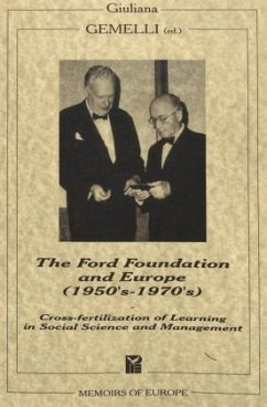 The Ford Foundation and Europe (1950's-1970's)