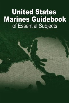 U.S. Marine Guidebook of Essential Subjects