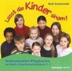 Lasst die Kinder singen!, 1 Audio-CD