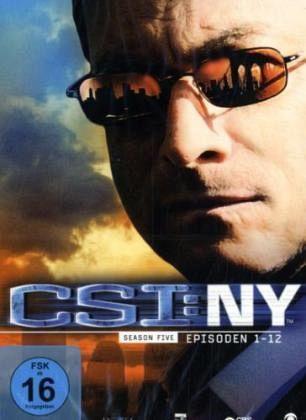 CSI: NY - Season 5.1 (3 DVDs)