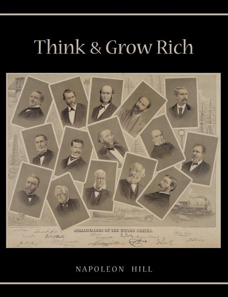 Rich Napoleon Hill Beard King Guys Follow For Daily: Think And Grow Rich Von Napoleon Hill