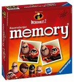 Ravensburger 21399 - The Incredibles 2, Die Unglaublichen, Memory Spiel, Familienspiel