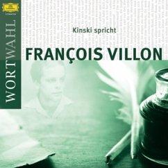 Kinski spricht Francois Villon, 1 Audio-CD - Villon, Francois