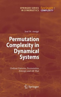 Permutation Complexity in Dynamical Systems - Amigó, José