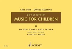 Music for Children, Singstimme, Blockflöte und Schlagzeug
