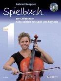 Cello spielen mit Spaß und Fantasie, Spielbuch für 1-3 Violoncelli, teilweise mit Klavier, m. Audio-CD