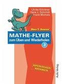 Dino T. Saurus Mathe-Flyer zum Üben und Wiederholen 3