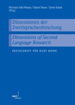 Dimensionen der Zweitsprachenforschung / Dimens...