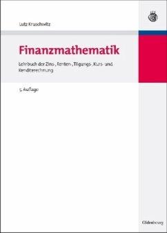 Finanzmathematik - Kruschwitz, Lutz