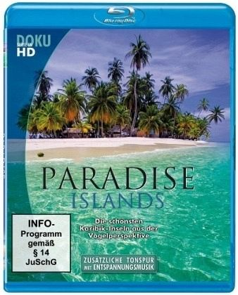 paradise islands die sch nsten karibik inseln film auf blu ray disc. Black Bedroom Furniture Sets. Home Design Ideas