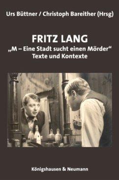 Fritz Lang: ´´M - eine Stadt sucht einen Mörder´´