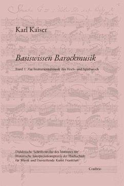 Zur Instrumentalmusik des Hoch- und Spätbarock